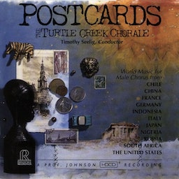 RR-61 明信片 POSTCARDS / The Turtle Creek Chorale