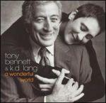 東尼班尼特與凱蒂蓮/多美好的世界 (美國版 CD)<br>Tony Bennett & K.D.Lang / A Wonderful World
