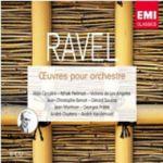 【絕版名片】拉威爾:管弦樂名作與鋼琴協奏曲  ( 5CDs )<br>契可里尼、帕爾曼、安赫麗絲、蘇才 <br>Ciccolini, Perlman, de Los Angeles, Benoit, Souzay, Martinon, Pretre, Clutyens, Vandernoot<br>Ravel:Orchestra Works