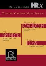 協和室內樂會社首張專輯 ( HRx 數位母帶檔案 )<br>Brubeck and Gandolfi works Concord Chamber Music Society<br>HR122