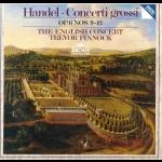 韓德爾:作品6第9-12號大協奏曲  ( 180 克 LP )<br>平諾克 指揮 英國協奏團<br>George Frederic Handel: Concerti Grossi Op.6, No. 9-12<br>The English Concert<br>Conductor: Trevor Pinnock