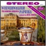 匈牙利紅椒圓舞曲  ( 180 克 LP )<br>杜拉第 指揮 匈牙利愛樂<br>Wienerwalzer Paprika<br>Philharmonia Hungarica, Antal Doráti