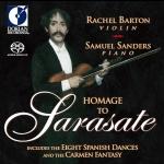 【線上試聽】瑞秋.巴頓-向薩拉沙泰致敬 ( 雙層 SACD )<br>Rachel Barton - Homage To Sarasate