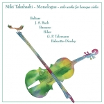 高橋未希-獨白:巴洛克小提琴獨奏<br>Miki Takahashi – Monologue: Solo works for Baroque Violin<br>MAJ 509