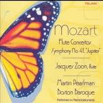 莫札特:兩首長笛協奏曲、第41號交響曲《朱彼得》<br>波士頓巴洛克合奏團 / 馬丁.帕爾曼 / 賈奎斯.榮恩, 長笛)<br>Mozart:Flute Concertos、Jupiter Symphony (Jacques Zoon, flute / Boston Baroque / Martin Pearlman)