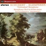 舒伯特:第五號交響曲、第八號未完成交響曲  ( 180 克 LP )<br>克倫培勒 指揮 愛樂交響樂團 <br>Schubert: Symphony No. 5 / No. 8 <br>Philharmonia Orchestra  / Otto Klemperer