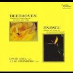 貝多芬、恩奈斯庫:鋼琴與小提琴奏鳴曲作品  ( 200 克 LP )<br>大衛阿貝爾:小提琴 茱莉史坦伯:鋼琴<BR>David Abel/ Julie Steinberg - Beethoven: Violin Sonata Op.96 & Enescu: Op. 25<br>Wilson Audio