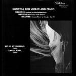 德布西、布拉姆斯、巴爾托克:小提琴與鋼琴奏鳴曲 ( 200 克 LP )<br> 大衛阿貝爾:小提琴 茱莉史坦伯:鋼琴<br> Debussy, Brahms, Bartok:Sonatas For Violin And Piano <br>Wilson Audio