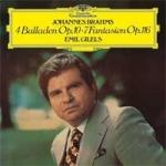 布拉姆斯:四首敘事曲作品第10號、幻想曲作品第116號  ( 180 克 LP )<br>吉利爾斯-鋼琴<br>Emil Gilels/ Brahms: 4 Ballades Op.10, 7 Fantasias Op. 116