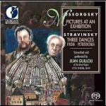 穆索斯基-展覽會之畫/史拉特汶斯基-彼得羅希卡之三首舞曲 ( 雙層SACD )<br>尚.吉洛:管風琴<br>Mussorgsky: Pictures at an Exhibition<br>Stravinsky: Three Dances From Petrouchka<br>Jean Guillou: Organ