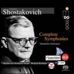 蕭士塔高維契:交響曲全集(11 CD 盒裝)<br>寇夫曼 指揮 波昂貝多芬管弦樂團