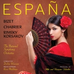 古典西班牙風情  ( 進口版 CD )<br>Espana: A Tribute To Spain  CD<br>蘿西・米德爾頓  女中音<br>黛比・懷斯曼 指揮 英國國家交響樂團