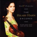 希拉蕊.韓-27首小提琴安可小品輯   ( 180 克 2LPs )<br>希拉蕊.韓:小提琴  /  柯瑞.史麥斯:鋼琴<br>Hilary Hahn and Cory Smythe - In 27 Pieces: Hilary Hahn Encore