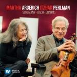 舒曼、巴哈與布拉姆斯作品集  ( 180 克 LP )<br>阿格麗希:鋼琴  /  帕爾曼:小提琴<br>Martha Argerich & Itzhak Perlman - Schumann-Bach-Brahms