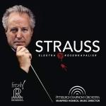 理查史特勞斯:艾蕾克特拉 / 玫瑰騎士 ( 雙層 SACD )<br>曼弗雷德‧霍內克  指揮 匹茲堡交響樂團<br>Strauss: Elektra/Der Rosenkavalier<br>Pittsburgh Symphony Orchestra<br>FR722
