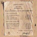 【點數商品】顧爾德 / 拜爾德&吉本斯:作品集  ( LP )<br>Glenn Gould-A Consort of Musicke Bye William Byrde and Orlando Gibbons