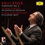 布魯克納:第二號交響曲  ( 180 克 2LPs )<br>慕提 指揮 維也納愛樂<br>Bruckner: Symphony No.2 In C Minor, WAB 102 – Ed. Leopold Nowak<br>Wiener Philharmoniker, Riccardo Muti<br>Live At Großes Festspielhaus, Salzburg / 2016