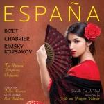 古典西班牙風情 ( 180 克 直刻 LP )<br> España: A Tribute To Spain<br>蘿西・米德爾頓 女中音 <br>黛比・懷斯曼 指揮 英國國家交響樂團