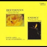 貝多芬、恩奈斯庫:鋼琴與小提琴奏鳴曲作品 ( 雙層 SACD )<br>大衛阿貝爾:小提琴  / 茱莉史坦伯:鋼琴<br>David Abel/ Julie Steinberg - Beethoven: Violin Sonata Op.96 & Enescu: Op. 25<br>Wilson Audio