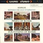 雷史畢基︰羅馬之松、羅馬之泉( 200 克 45 轉 2LPs )<br>萊納 指揮 芝加哥交響樂團<br>Respighi:Pines of Rome、Fountains of Rome<br>Reiner, conductor / Chicago Symphony