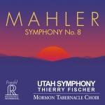 馬勒:第八號交響曲  ( 雙層 SACD,兩片裝 )<br>猶他交響管弦樂團<br>音樂總監:泰瑞.費雪<br>摩門大教堂合唱團<br>Mahler: Symphony No. 8  Utah Symphony Orchestra  Thierry Fischer, Music Director Mormon Tabernacle Choir<br>FR725