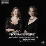 【線上試聽】莫札特 鋼琴協奏曲 K. 413, 414, 415  ( 雙層 SACD )  <br>Mozart Piano Concertos K. 413, 414, 415  SACD  <br>La Petite Bande  <br>Sigiswald Kuijken: first violin  <br>Marie Kuijken, Veronica Kuijken: forte piano