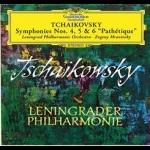 柴可夫斯基:第 4、5 與 6 號交響曲 (180克 3LPs)<br>穆拉汶斯基 指揮 列寧格勒愛樂<br>Tchaikovsky : Sinfonies Nos. 4, 5 & 6 Pathétique / Evgeny Mravinsky Conductor, Leningrader Philharmonie