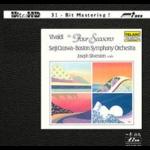 【FIM 絕版名片】韋瓦第-四季 UHDCD  <br>小提琴:約瑟夫.席維斯坦  <br>小澤征爾 指揮 波士頓交響管弦樂團  <br>Vivaldi The Four Seasons Ultra HD CD  <br>Violin:  Joseph Silverstein  <br>Boston Symphony Orchestra conducted by Seiji Ozawa