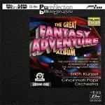 【FIM 絕版名片】艾瑞克.康澤爾-幻想大冒險 UHDCD  <br>康澤爾 指揮 辛辛那提大眾管弦樂團 <br>Erich Kunzel - The Great Fantasy Adventure Album Ultra HD Test CD <br>Erich Kunzel conducts the Cincinnati Pops Orchestra