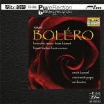 【FIM 絕版名片】康澤爾-拉威爾:波麗露 ( Ultra HD,限量版 CD  )  <br>康澤爾 指揮 辛辛那提大眾管弦樂團  <br>Erich Kunzel - Ravel Bolero Ultra HD CD  <br>Erich Kunzel conducts the Cincinnati Pops Orchestra