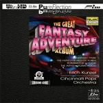 【FIM 絕版名片】艾瑞克.康澤爾-幻想大冒險 ( Ultra HD,限量版 CD  )  <br>康澤爾 指揮 辛辛那提大眾管弦樂團 <br>Erich Kunzel - The Great Fantasy Adventure Album Ultra HD Test CD <br>Erich Kunzel conducts the Cincinnati Pops Orchestra