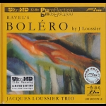 【FIM 絕版名片】拉威爾:波麗露、路西耶:睡蓮  ( Ultra HD,限量版 CD  )<br>賈克‧路西耶三重奏<br>Jacques Loussier Trio Ravels Bolero Limited Edition Ultra HD CD