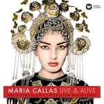 卡拉絲:現場實況精選集(180克LP) <br>Maria Callas Live & Alive - The Ultimate Live Collection Remastered