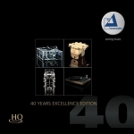 「清澈」- 40週年紀念卓越鑑聽盤 HQCD<br>Clearaudio - 40 Years Excellence Edition