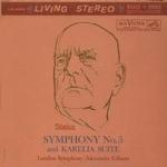 西貝流士 / 第五號交響曲( 200 克 LP )<br>吉普生 指揮 倫敦交響樂團<br>Sibelius: Symphony No. 5<br>London Symphony Orchestra, Alexander Gibson