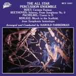 哈洛‧法柏漢:明星打擊樂 ( CD )<br>Harold Farberman:The All Star Percussion Ensemble
