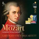 莫札特:弦樂四重奏作品全集(8 CDs)<br> 萊比錫弦樂四重奏<br> W. A. Mozart : Complete String Quartets (No. 1-23)