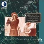 【線上試聽】安可! 安可! 22首最受歡迎的安可曲(雙層 SACD)<br>傑米.拉雷特(小提琴)<br>瑪歌‧加瑞特(鋼琴)<br>Virtuoso! Favourite Violine Encores<br>Jaime Laredo (Violin)<br>Margo Garrett (Piano)