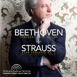 貝多芬:第三號交響曲「英雄」/理察・史特勞斯:第一號法國號協奏曲(雙層 SACD)<br> Beethoven: Symphony No 3 Eroica; Strauss: Horn Concerto No. 1<br> Pittsburgh Symphony Orchestra / Manfred Honeck, Music Director<br>  曼弗瑞德・霍內克 指揮 匹茲堡交響樂團<br> 法國號:威廉・卡巴萊羅