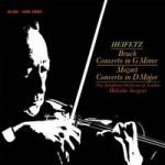布魯赫︰第一號小提琴協奏曲、莫札特︰第四號小提琴協奏曲 ( 200 克 LP )<br> 海飛茲小提琴, 沙堅特 指揮 倫敦新交響樂團<br> Bruch / Concerto in g minor, Mozart / Concerto in D major<br>Sargent–New Symphony Orchestra of London, Heifetz (Violin)