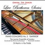 貝多芬:降E大調第五號鋼琴協奏曲《皇帝》(進口版 CD)<br> Beethoven: Piano Concerto No. 5 in E Flat Major,  Op. 73<br>  鋼琴:約翰.里納翰 John Lenahan<br> 演奏:洛克利亞樂團 Locrian Ensemble<br> 指揮:莉瑪・蘇珊絲佳雅 Rimma Sushanskaya