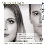 【線上試聽】獻曲:舒曼/布拉姆斯-雙簧管與鋼琴作品 ( 雙層 SACD ) <br>Widm Ung: Works For Oboe And Piano  SACD