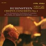LSC-2575 蕭邦:第一號鋼琴協奏曲(200 克 LP)<br>史克洛瓦斯傑夫斯基 指揮 倫敦新交響樂團<br>鋼琴:阿圖.魯賓斯坦<br>Chopin: Concerto No. 1 in E Minor, Op.11
