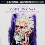 柴可夫斯基:第四號交響曲  ( 200 克 LP ) <br>蒙都 指揮 波士頓交響樂團<br>Tchaikovsky: Symphony No.4<br>Boston Symphony, Pierre Monteux