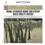 布拉姆斯:女低音狂想曲、命運之歌 馬勒:旅人之歌 ( 180 克 LP )<br>華爾特 指揮 哥倫比亞交響管弦樂團, 女中音:米爾德里德.米勒<br> 霍華.史旺/西方學院音樂會合唱團