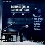 魯賓斯坦在卡內基音樂廳  ( 200 克 LP )<br>Arthur Rubinstein/ Highlights From Rubinstein at Carnegie Hall
