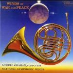 戰爭與和平—發燒管樂選粹  ( 200 克 45轉 2LPs )<br>洛威爾・葛拉漢 指揮 美國國家交響管樂團<br>Lowell Graham - Winds Of War and Peace<br>Wilson Audio