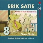 薩替:鋼琴作品集 8 <br>史蒂芬.施萊爾馬赫<br>Erik Satie: Piano Music Vol. 8 - Sports et Divertissements <br>Steffen Schleiermacher