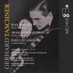 塔斯欽納:西貝流士與哈察都量小提琴協奏曲、卡門幻想曲<br>Sibelius/Khachaturian/Sarasate-Taschner