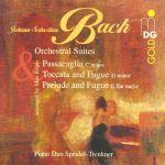 【線上試聽】巴哈:管弦樂組曲( 四手聯彈,2 CDs )<br>特萊恩克納 ─ 施派德爾鋼琴二重奏<br>J.S. BACH: Four Orchestral Suites<br>Piano Duo Trenkner-Speidel